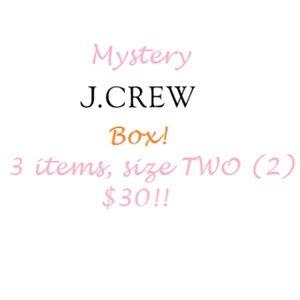 J Crew Mystery Box!! Size 2!